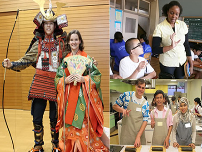 Students Enjoy Japan Culture