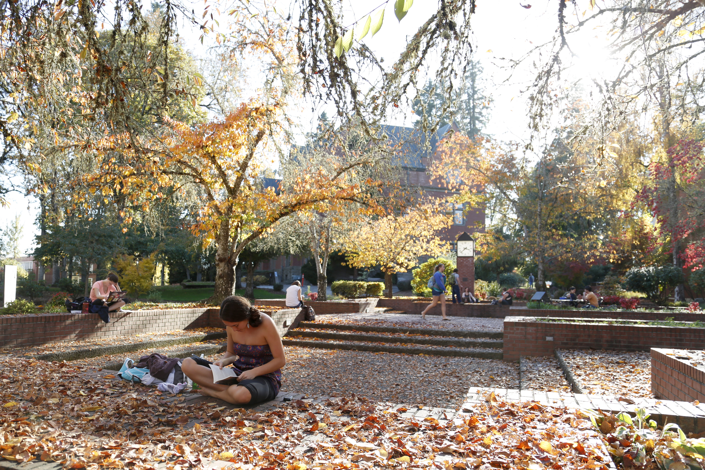 trombley square in fall