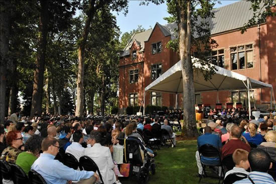 August commencement