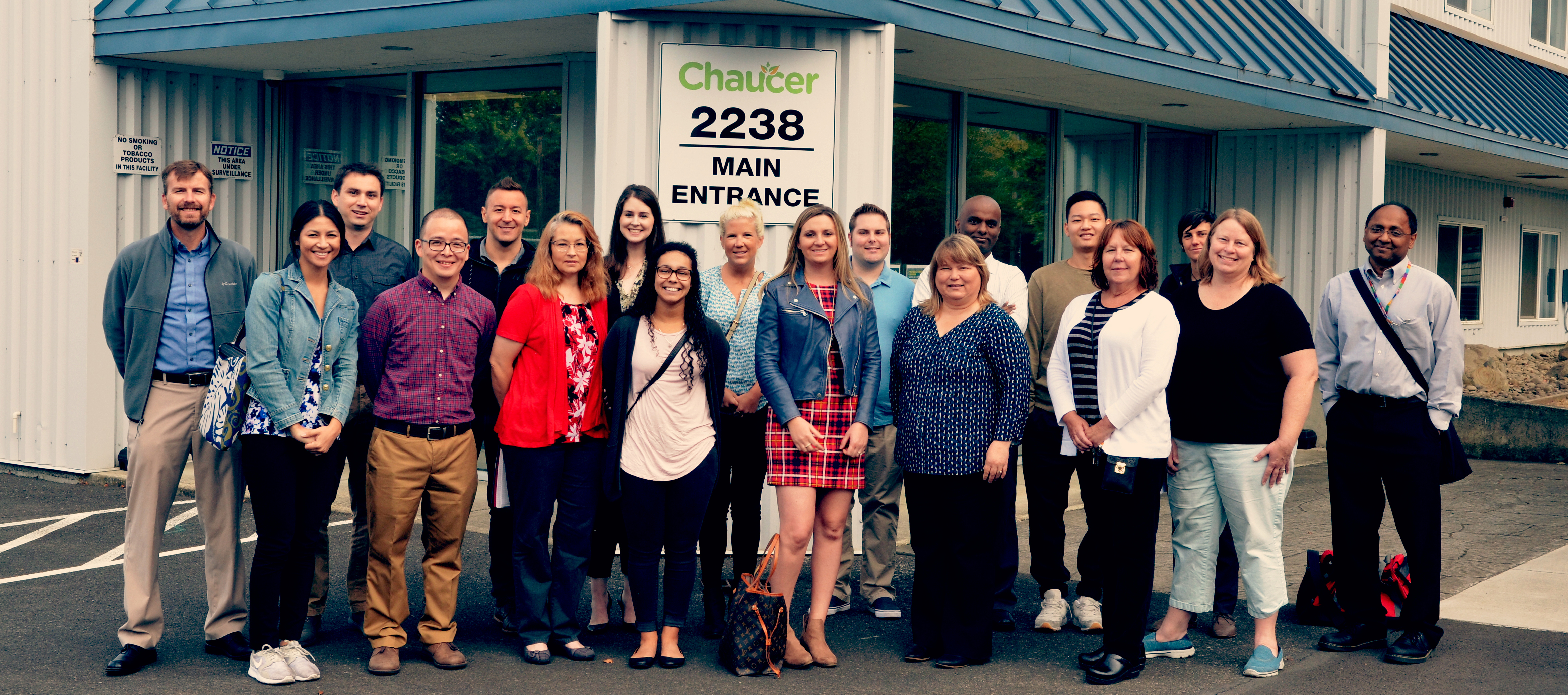 Students visit Chaucer facility