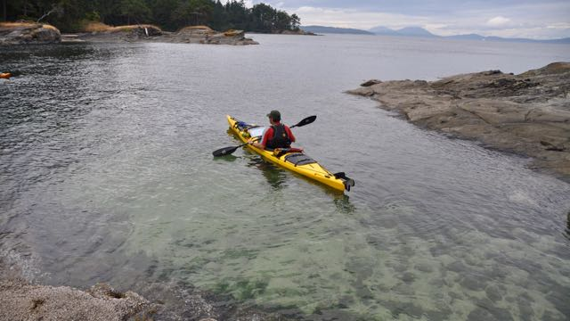 Sea Kayaking in Pacific NW