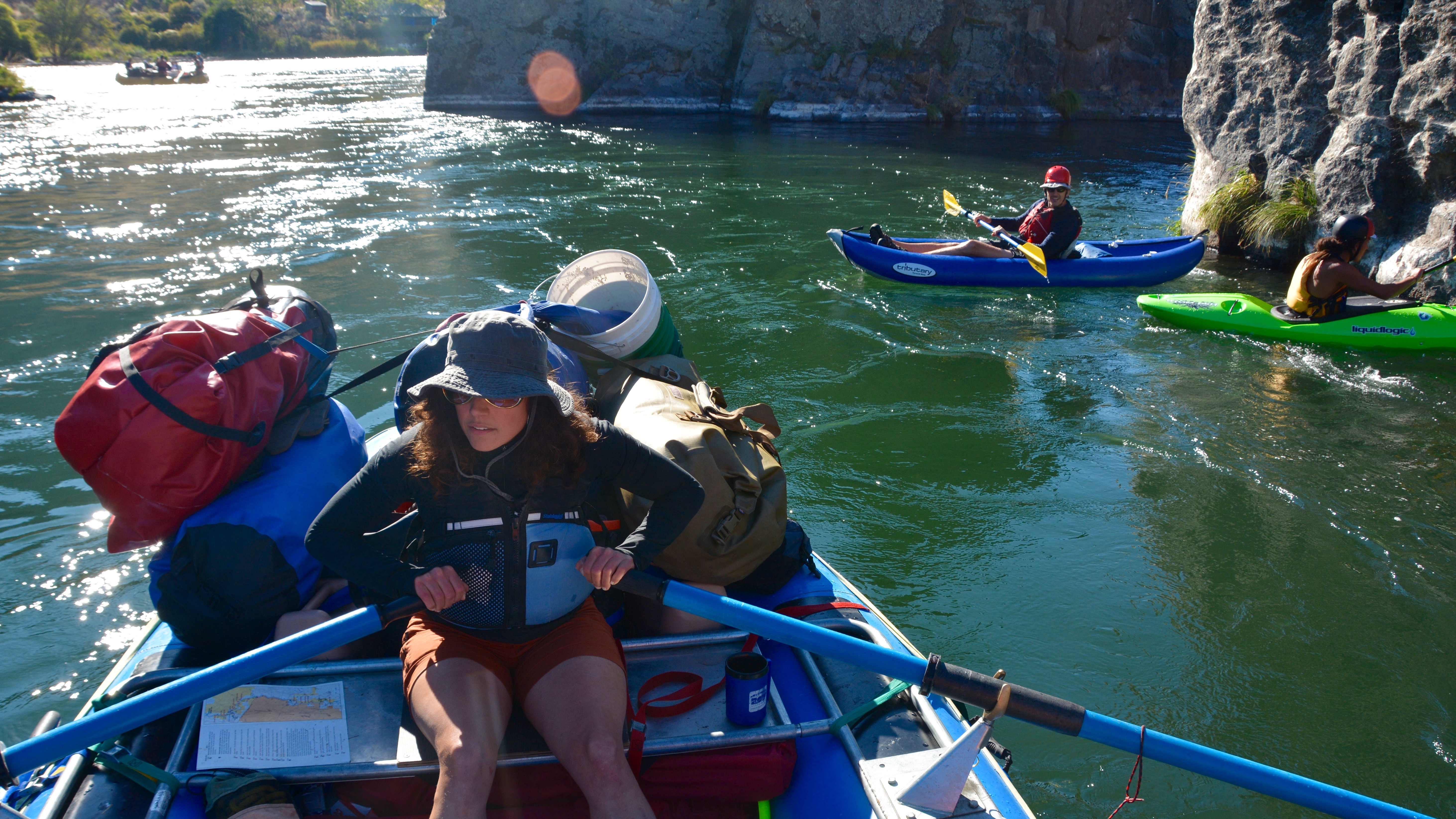 Rafting on Deschutes, OR