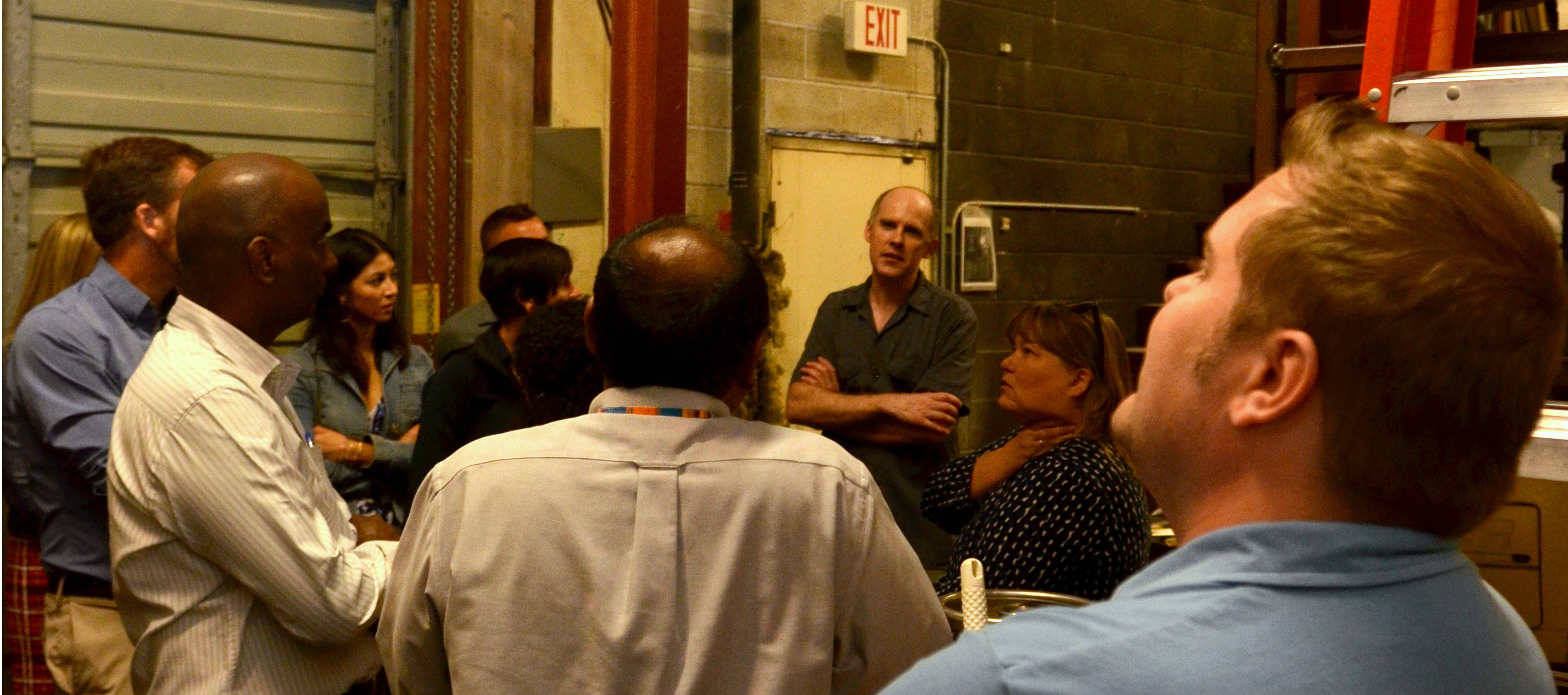Business students visit Golden Valley Brewery
