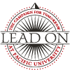 Lead On Campaign logo in 2-color version