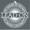 Lead On campaign logo in white