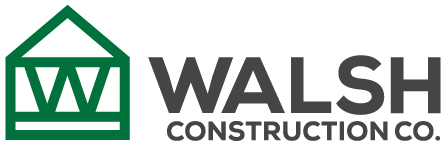 Walsh Construction Co. Color Logo