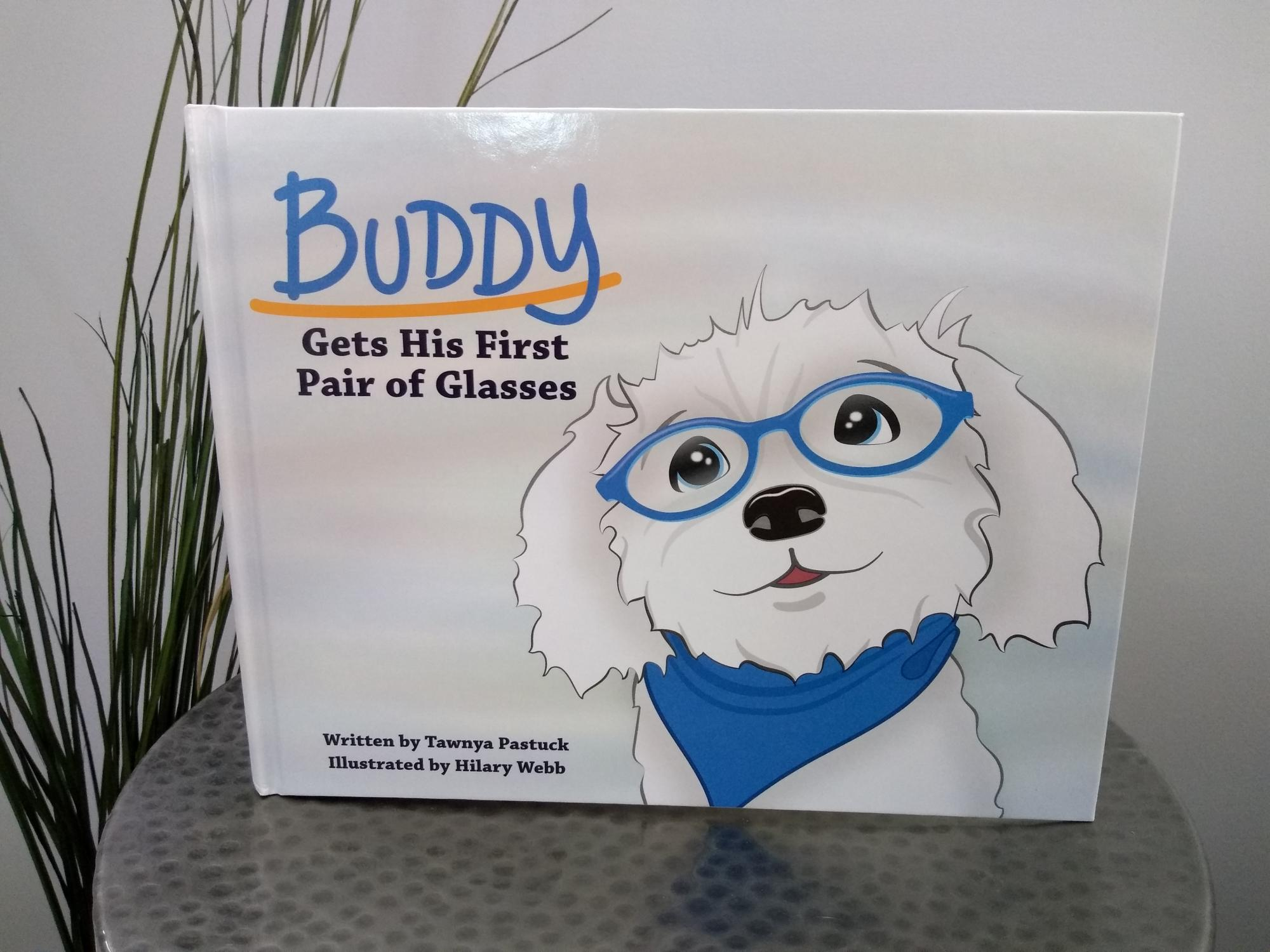 Cover of Buddy Gets His First Pair of Glasses