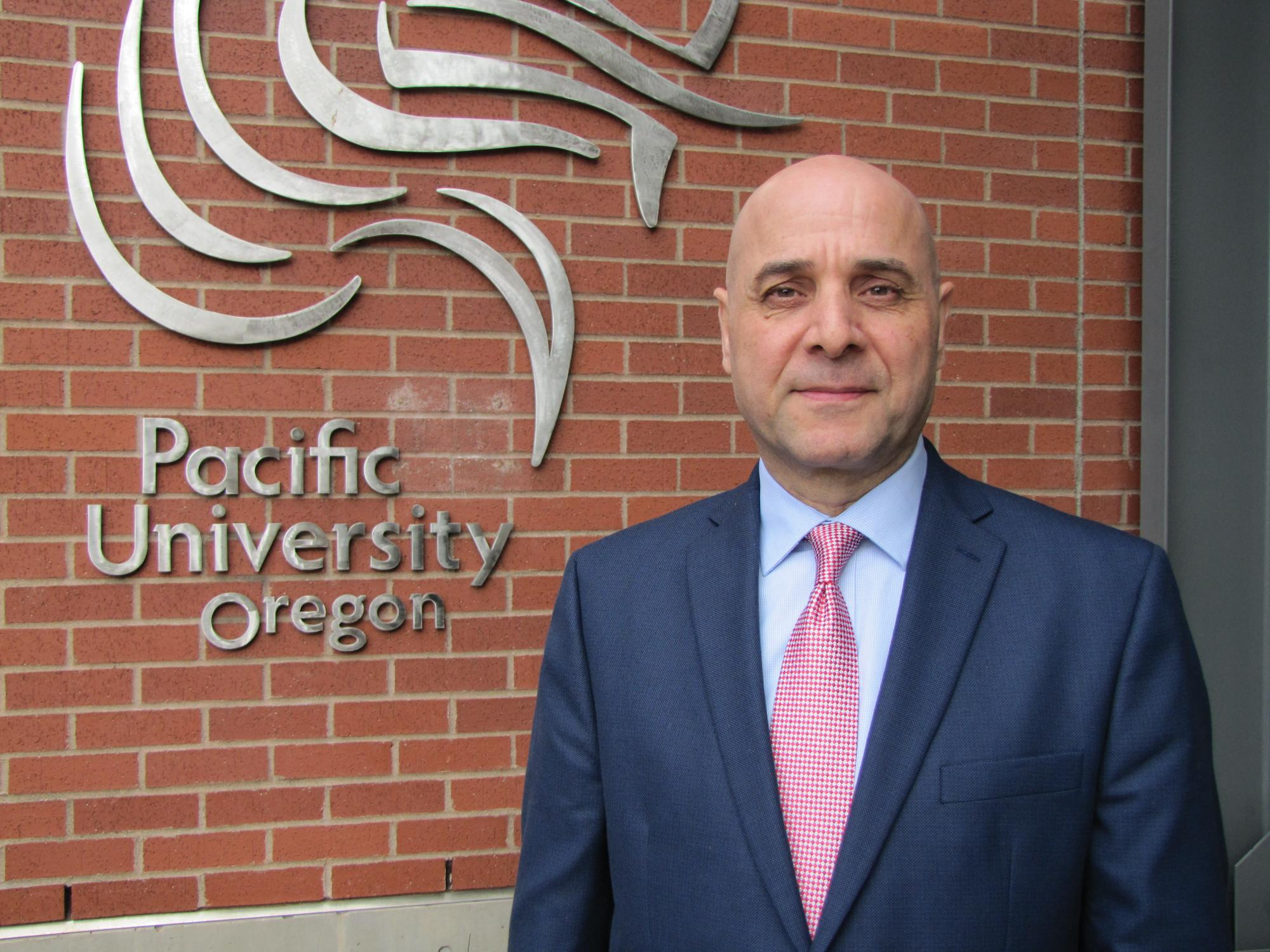 Photo of School of Pharmacy Dean Reza Karimi