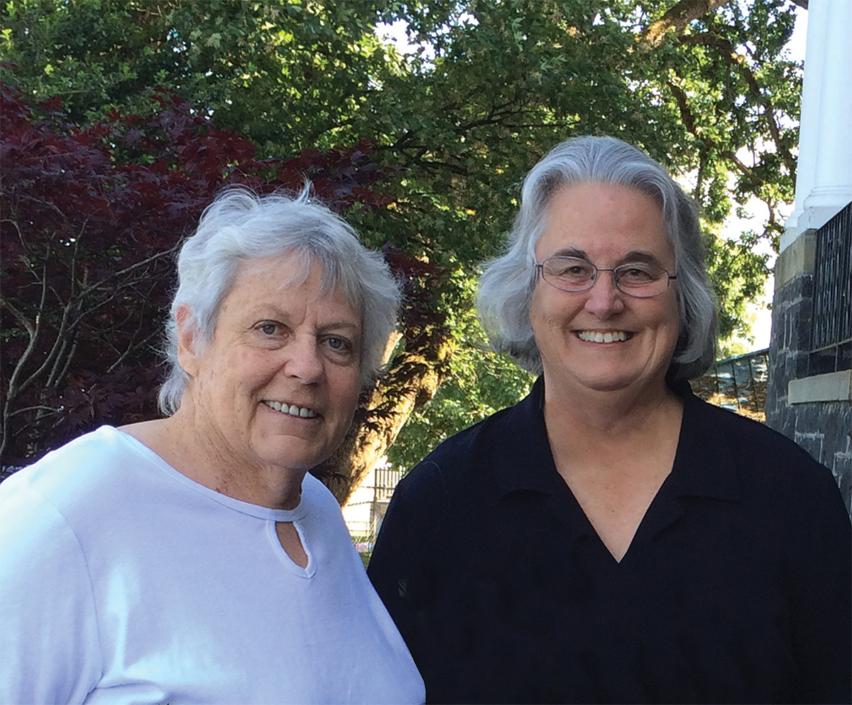 Lesley Hallick and Partner Candy Hardin