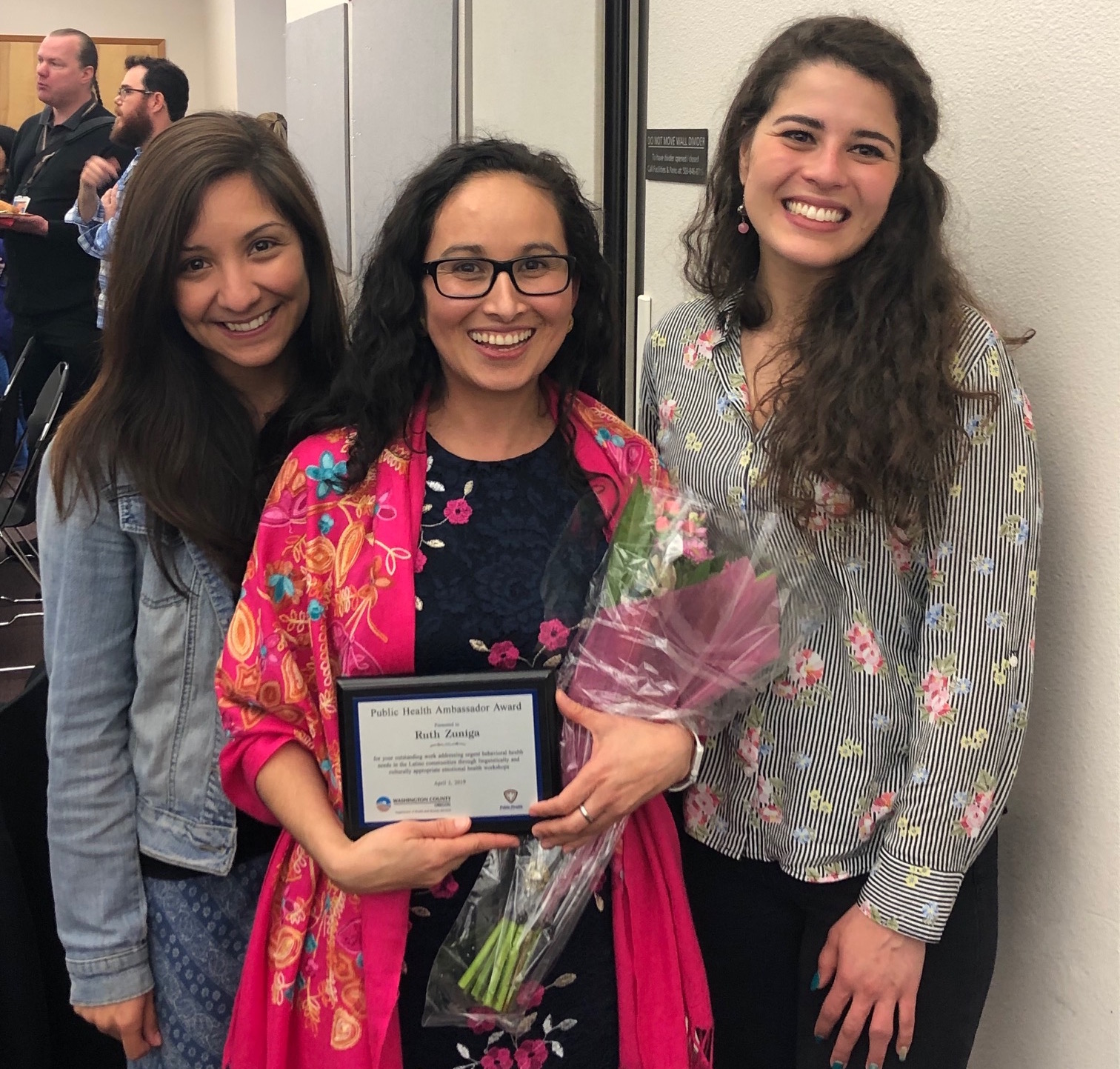 Assistant Professor Ruth Zúñiga Honored by Washington County