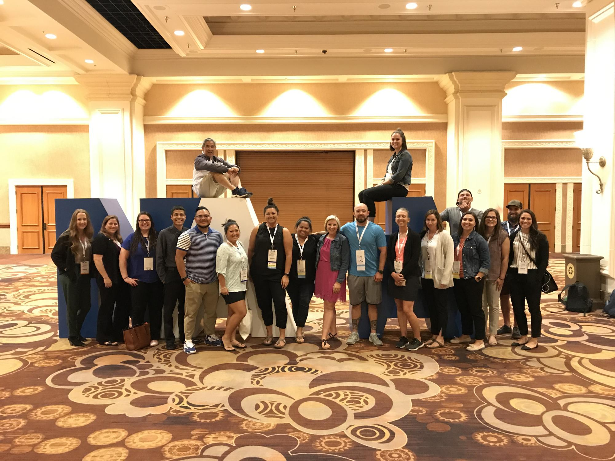 Athletic Training Current and Former Students attend Las Vegas NATA