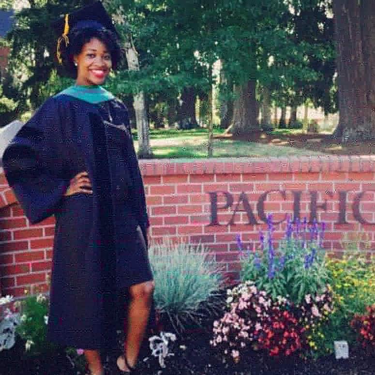 Recent graduate Breanne McGhee