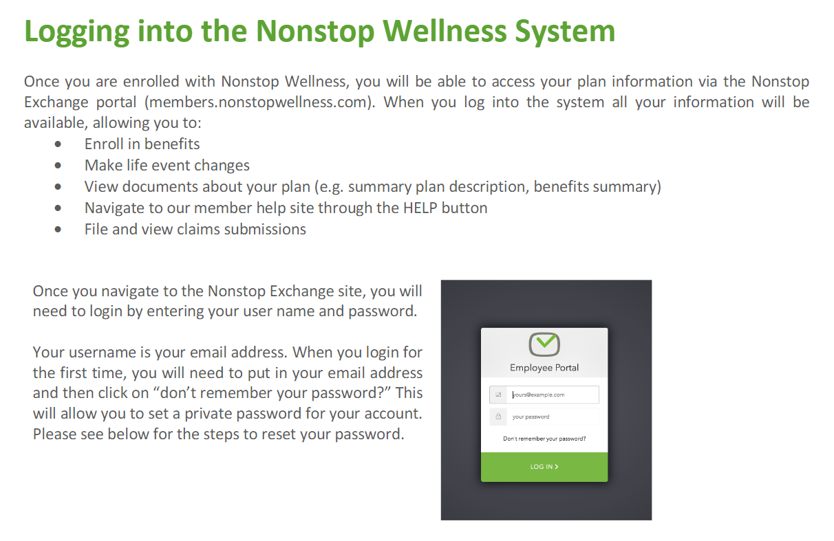 nonstop_wellness_login