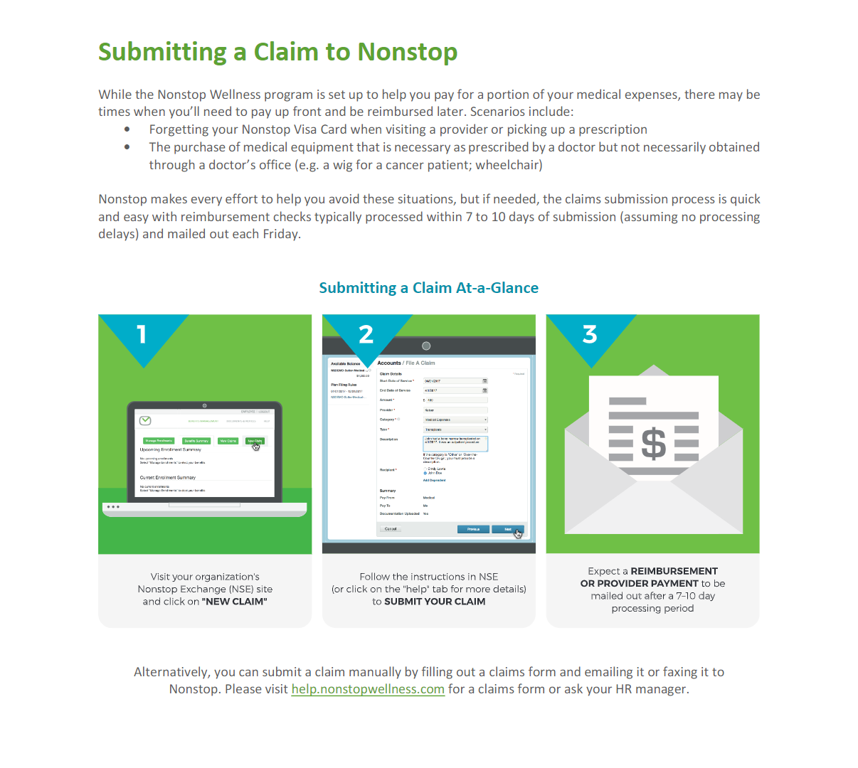 Submitting-A-Claim-to-Nonstop-Graphic
