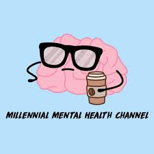 a brain with glasses holding a coffee cup