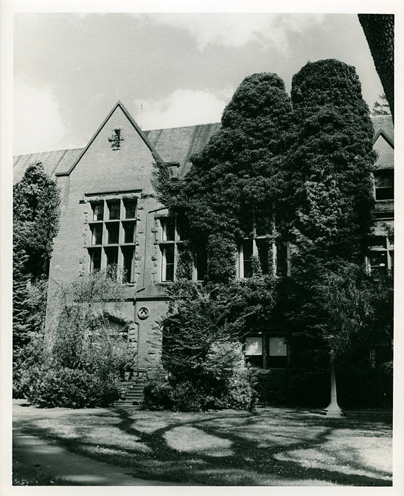 Marsh Hall in the 1960s