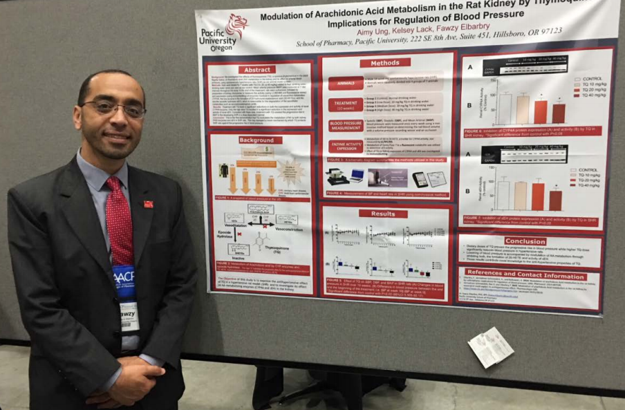 Fawzy Elbarbry poster at AACP