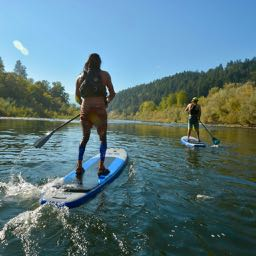 Stand Up Paddle Boarding on the Rogue River