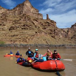 Rafting on the Green River, UT