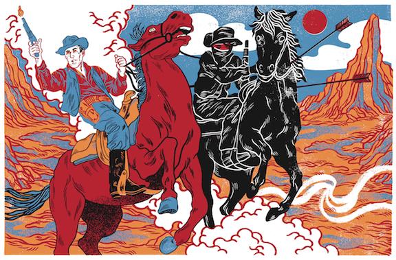 Pony art exhibit