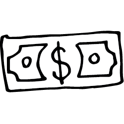 Icon of a dollar bill