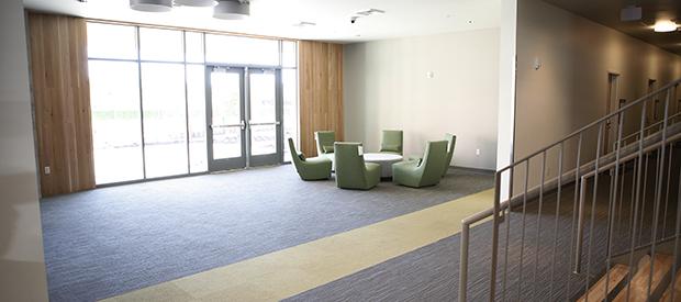 Inside Cascade Hall