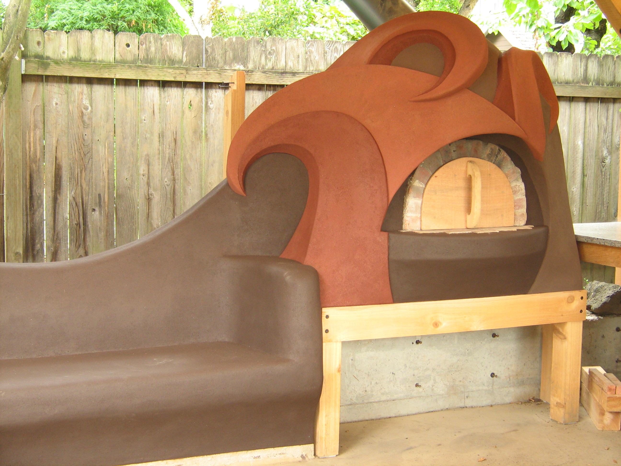 Kagan Bench & Oven (Oven pictured)