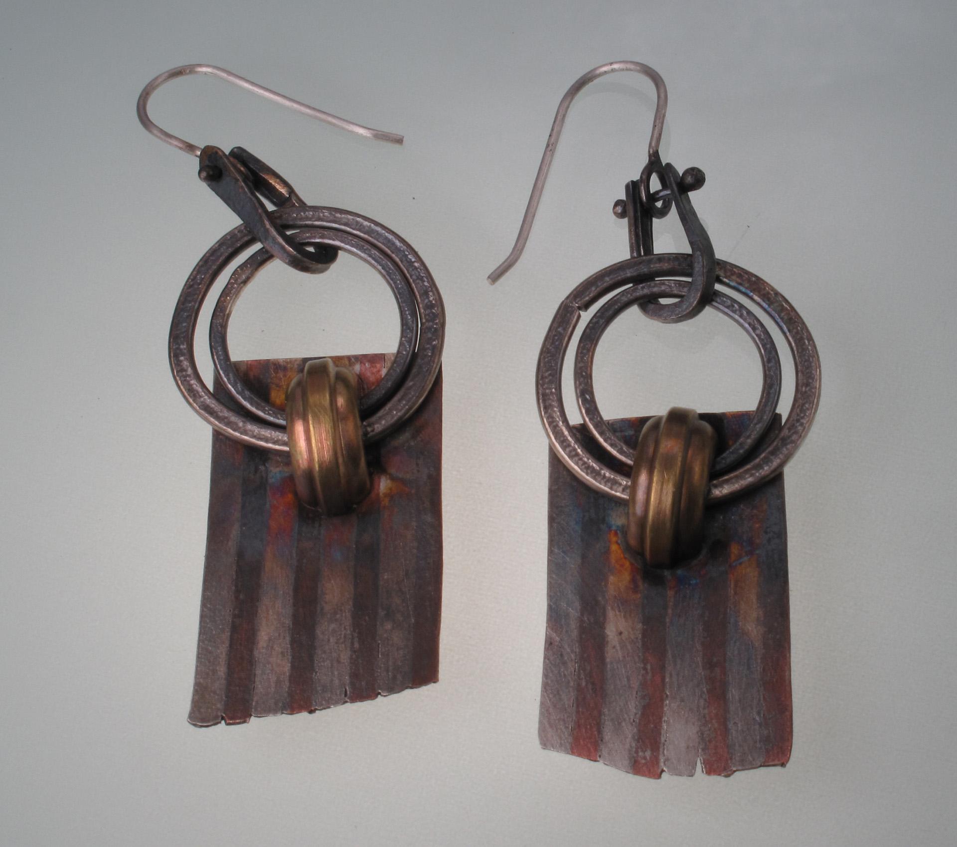 Laminated Earrings