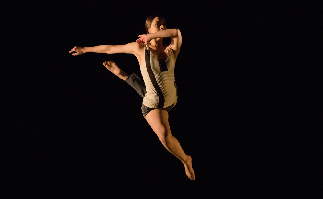 Dance Major and Applied Theatre Major, Leiana Petlewski '21, Photography by Blaine Truitt Covert