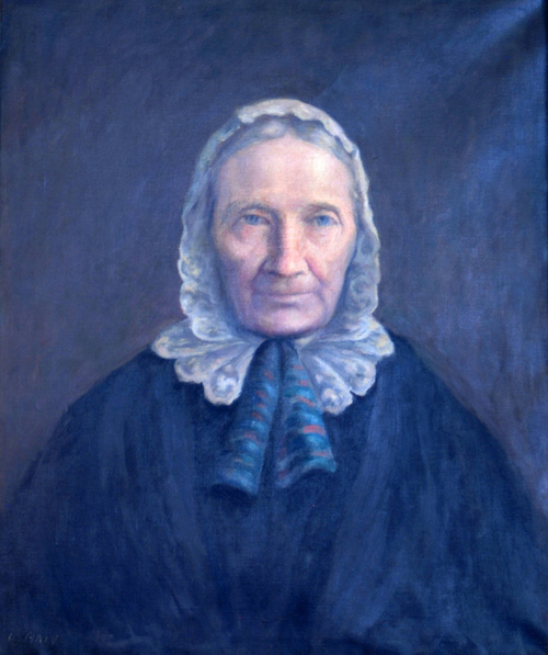 Painted Portrait of Tabitha Brown