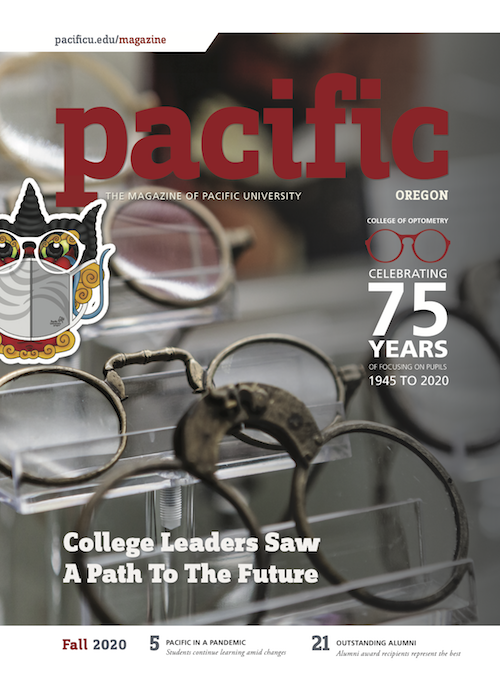 Cover of Fall 2020 Pacific magazine