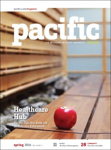 Spring 2011 Pacific Magazine cover