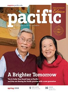 Spring 2018 Pacific Magazine cover