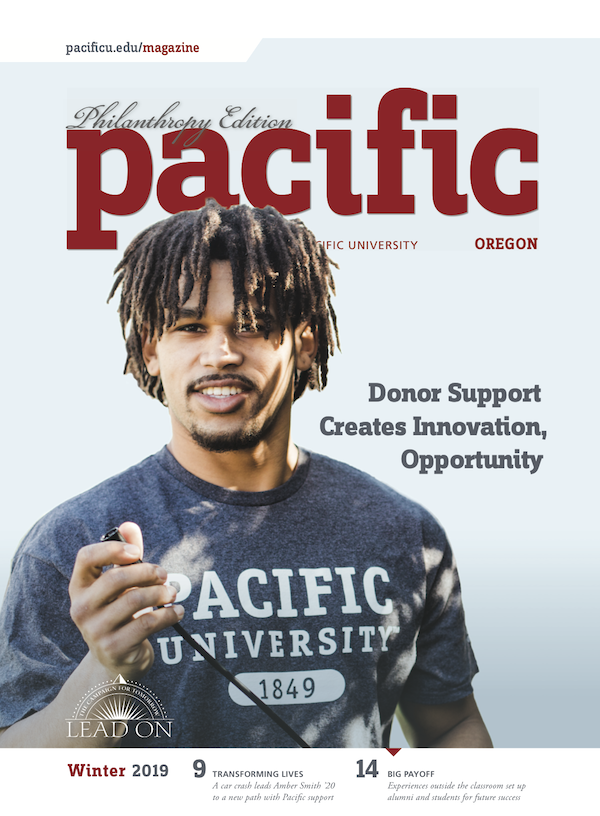 Cover of Winter 2019 Pacific magazine