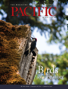 Cover of Fall 2009 Pacific Magazine