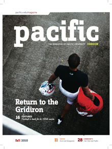 Fall 2010 Pacific Magazine cover