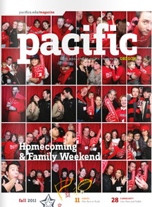 Fall 2011 Pacific Magazine cover