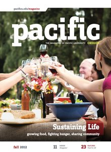 Fall 2012 Pacific Magazine cover