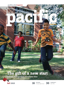 Fall 2013 Pacific Magazine cover