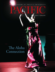 Spring 2010 Pacific Magazine cover