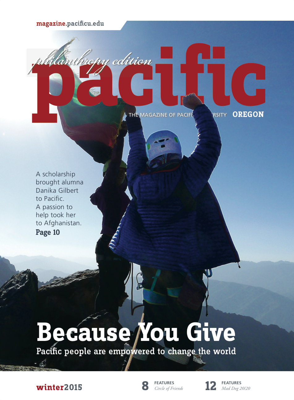 Winter 2015 Pacific Magazine cover
