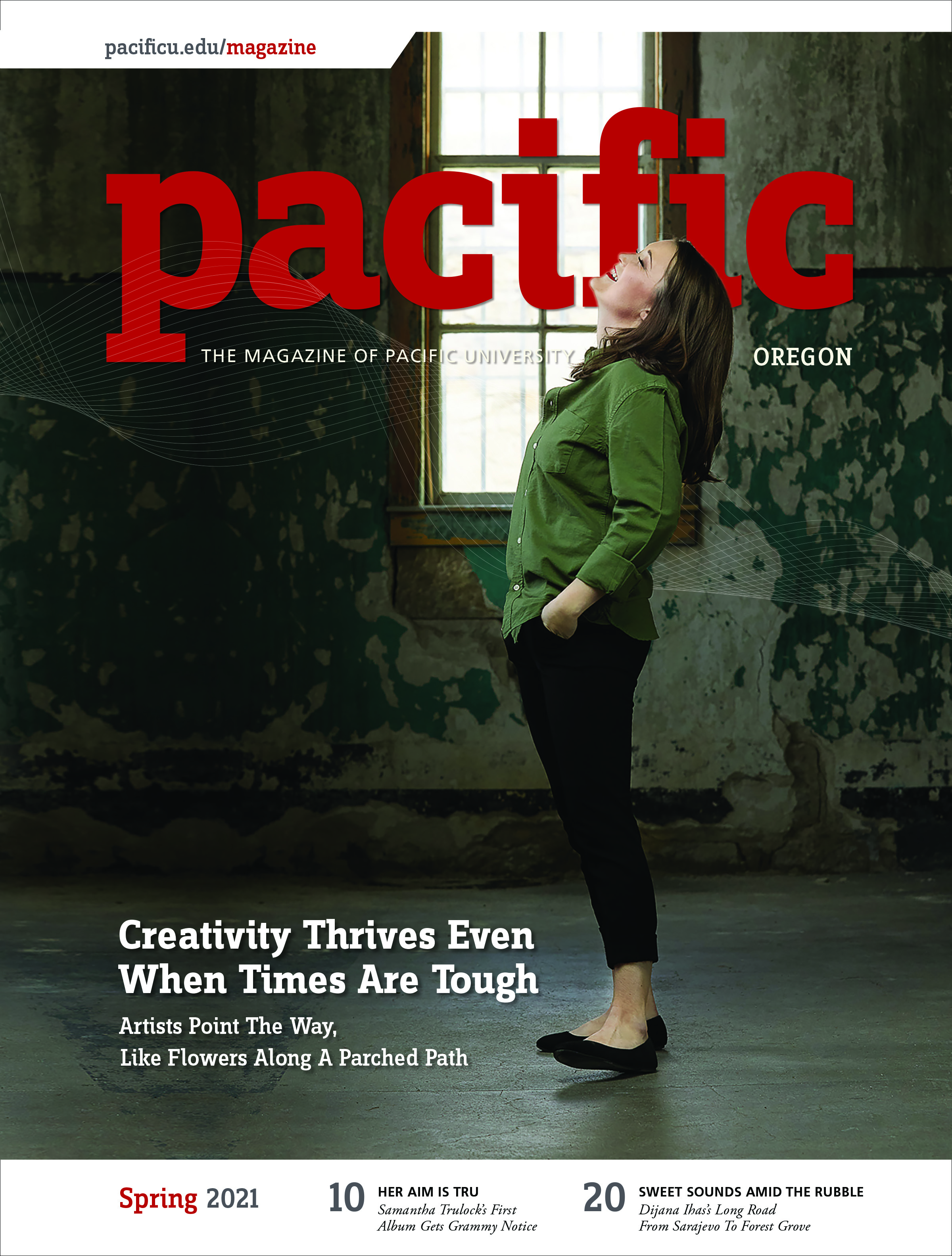 Spring 2021 Pacific Magazine Cover