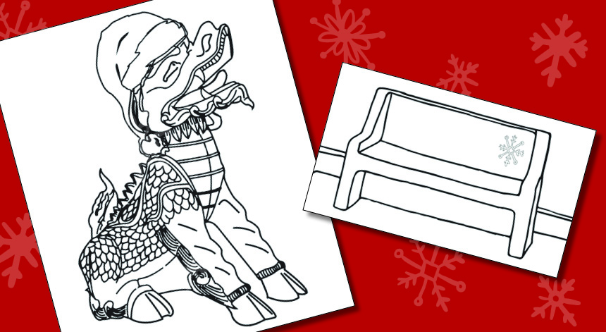 Enjoy Winter Coloring Pages | Pacific University