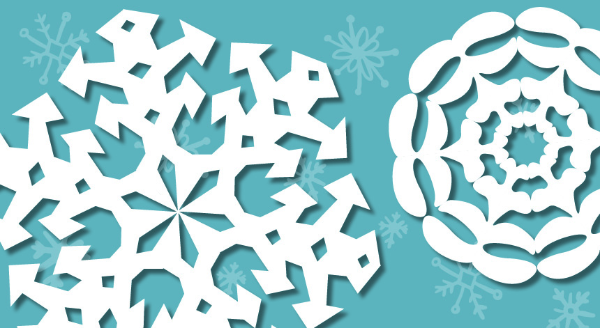 image regarding Snowflake Printable titled Craft Snowflakes With Printable Templates Pacific Higher education