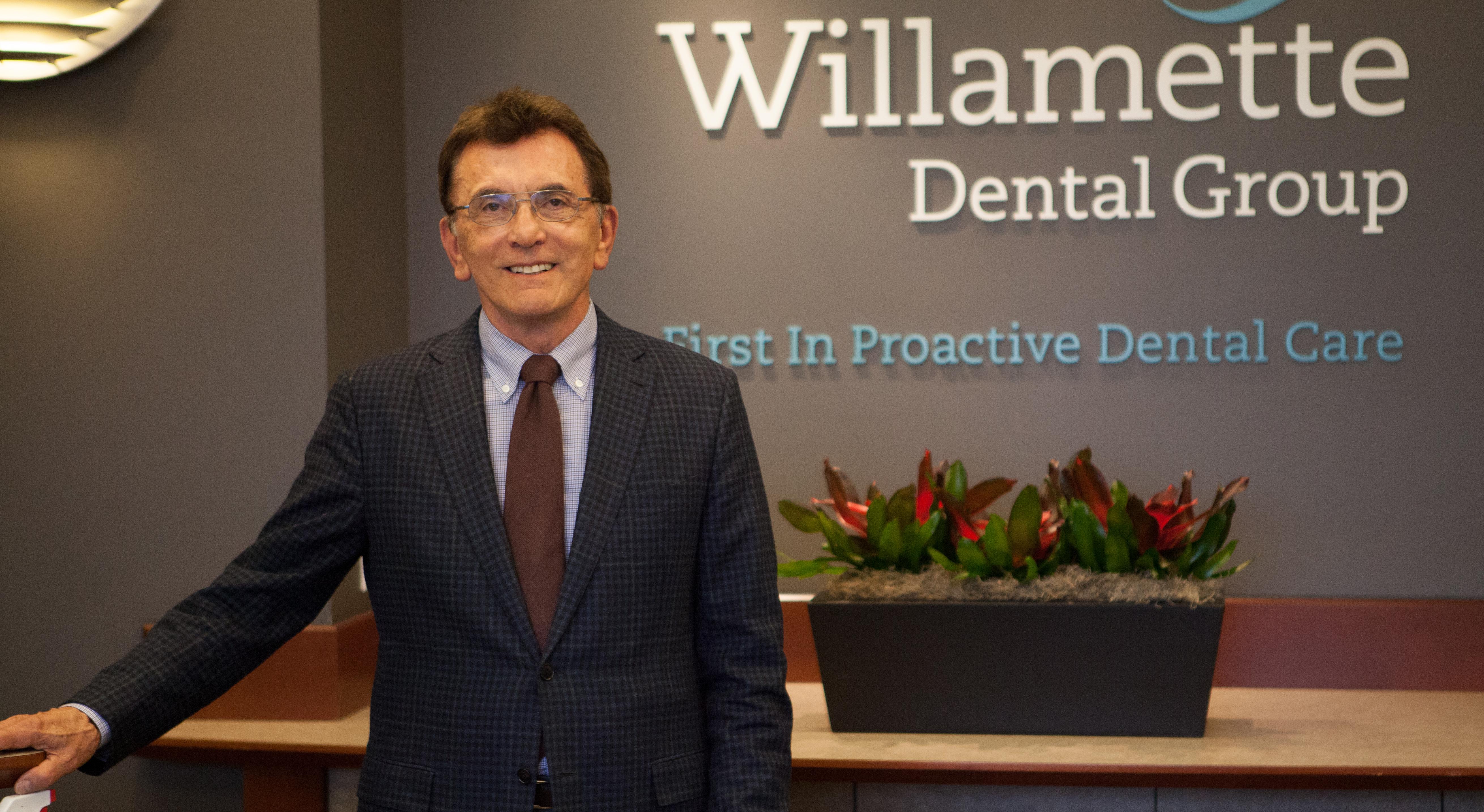 Dr. Skourtes, CEO Willamette Dental Group