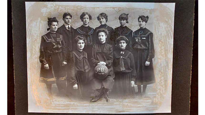 1902 Womans Basketball Team
