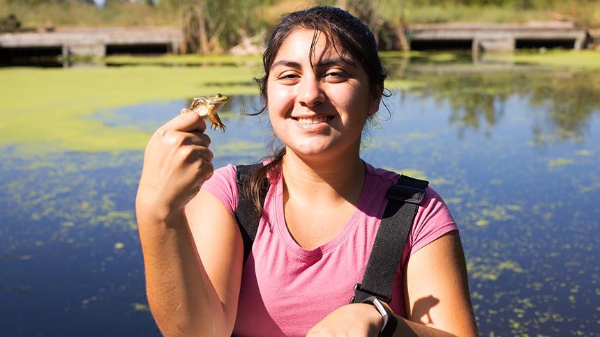 Student Rachel Araiza