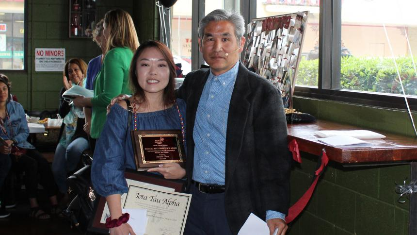 2019 Athletic Training Award Recipient Natalie Tran