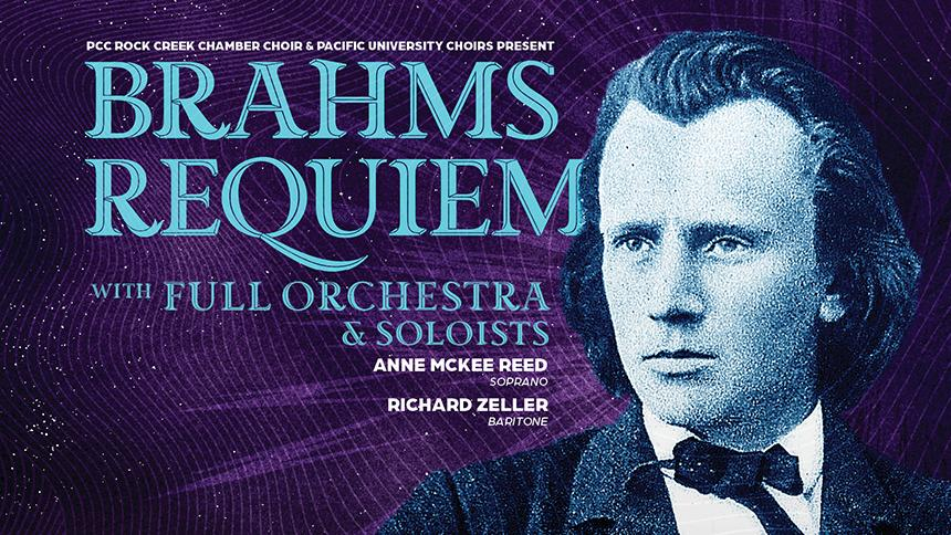 Poster for Brahms Requiem