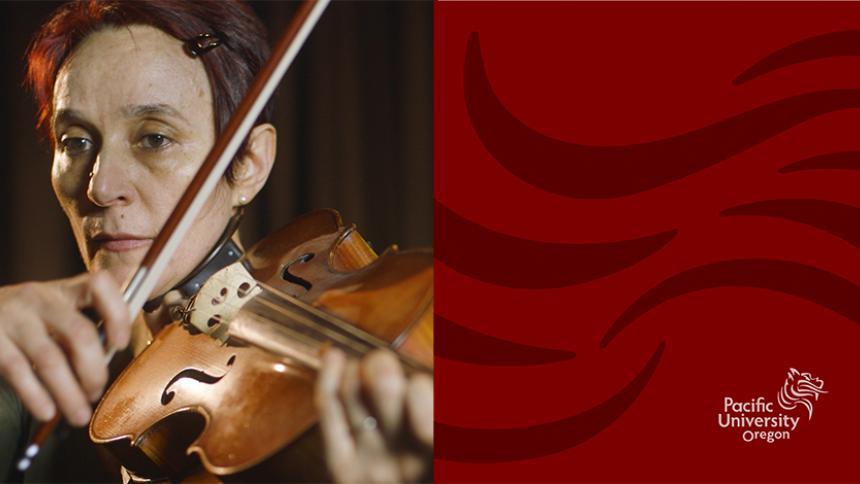 Dijana Ihas playing viola